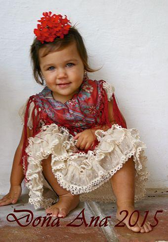 ...::: DOÑA ANA :::.. Trajes de gitana, flamenca, faralaes. Faldas y tops, infantiles, tallas especiales en Sevilla, Cordoba, Huelva, Cadiz, Malaga, Jaen, Badajoz