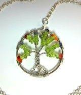 #Treeoflife, #necklace. #pendant, #peridot, #jewellery, #tree,