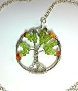 #Treeoflife, #necklace. #pendant, #peridot, #jewellery, #tree,