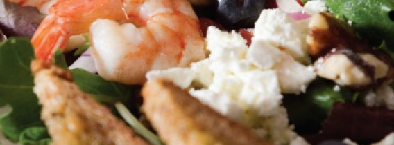Shrimp Salad with Camelina Oil Recipe Photo