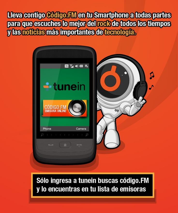 Lleva Código.FM en tu Smartphone