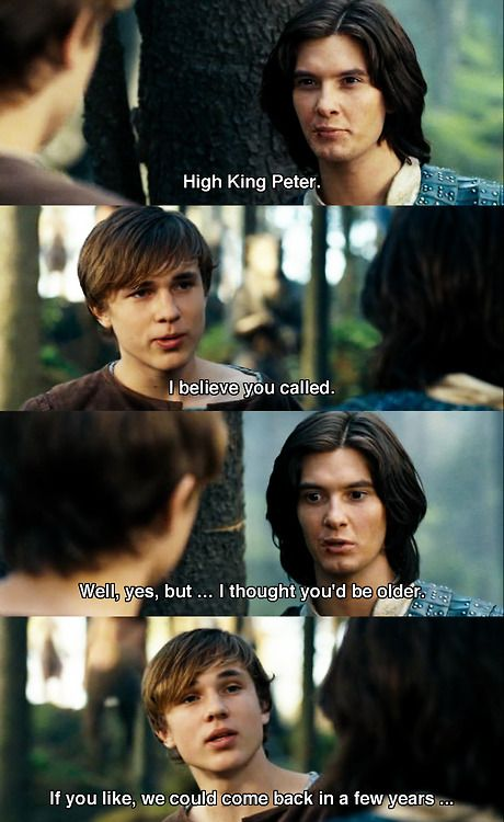 Pete was kind of stuck up in this one. he had to deal with not being King in our world when he had been king in Narnia for years! It was a big change I guess. So when he finally got back to Narnia, nothing was the same!