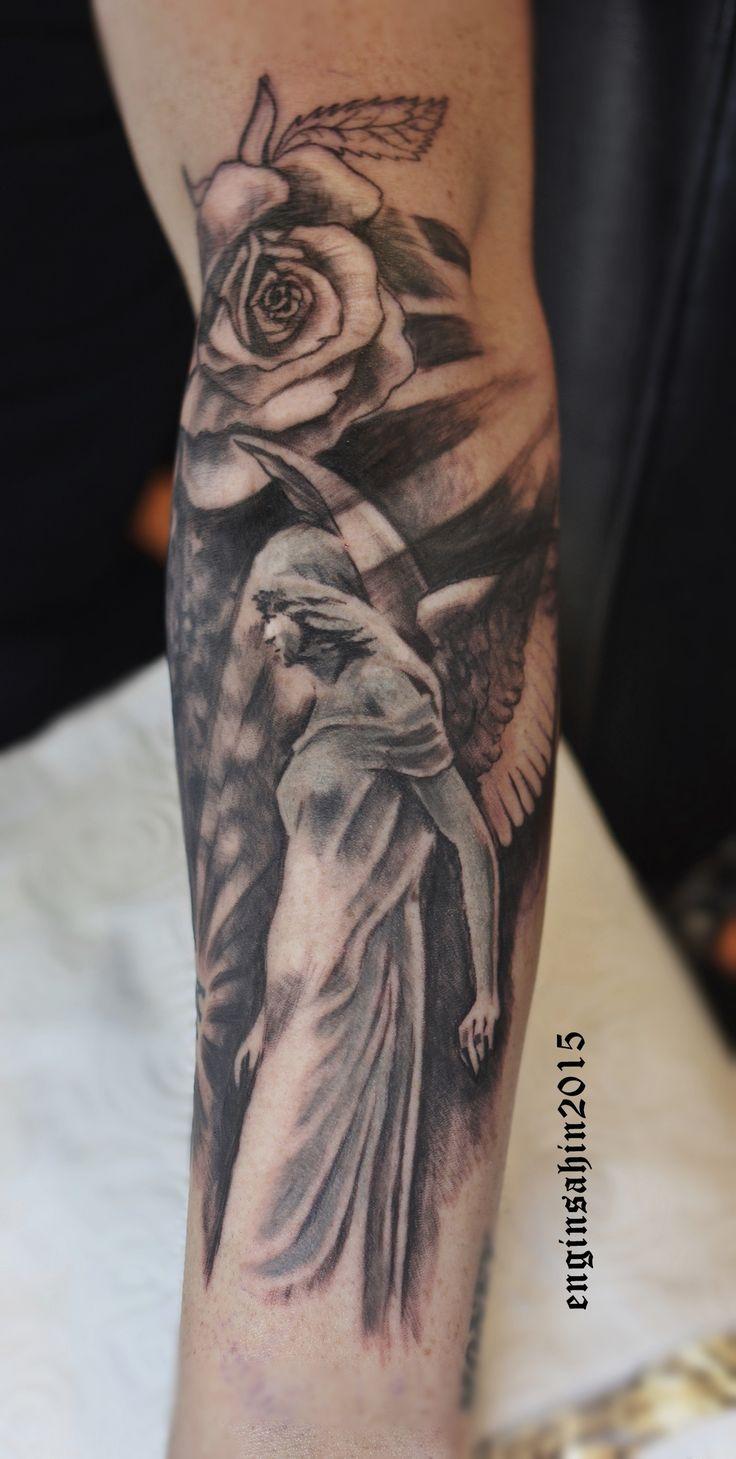 tattoo - dövme - melek dövmesi - angel tattoo - engin şahin - dövme sanatı - dövme sanatçısı - tattoo artist