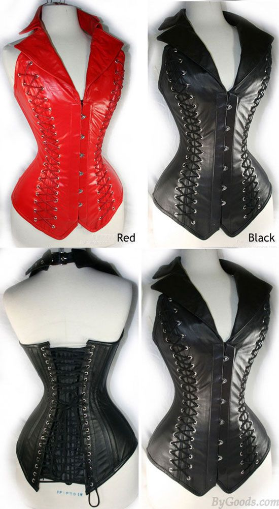 67a6f33df Black Steel Buckle Straps Girly Corset  sexy  lingerie  corset Corsets