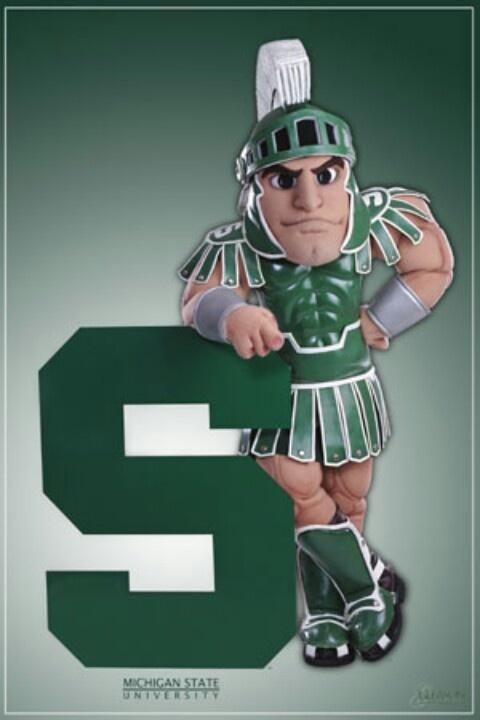 Michigan State mascot