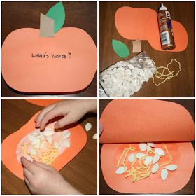 313 best images about fall autumn preschool projects on for Fall arts and crafts for preschoolers