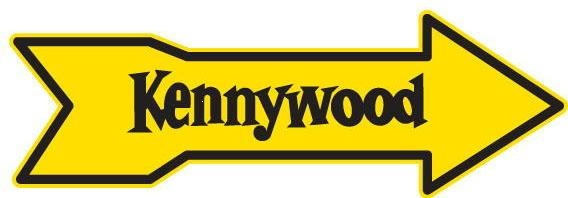 Kennywood Park signs- posted every summer showing the route to the park--stolen every fall.