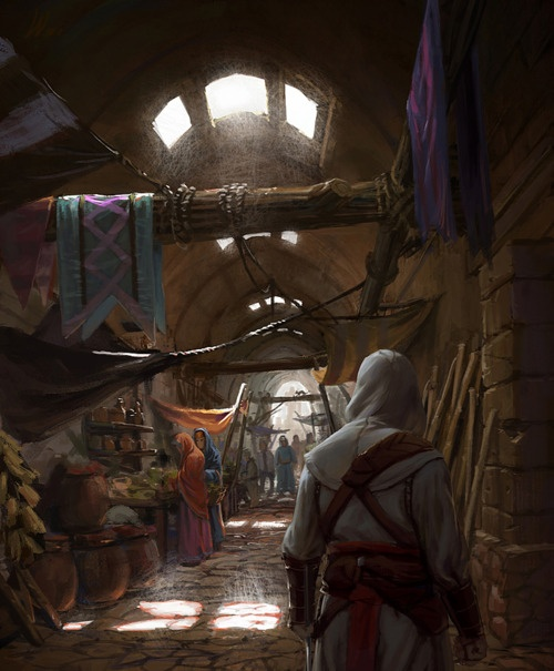 .: Concept Art Assassins Creed, Desert, Games Mood, Assassins Creed Inspiration, Assassins Creed Concept Art, Assassins Creed Fans Art, Black Marketing, Shadows, Assassins ´S Creed