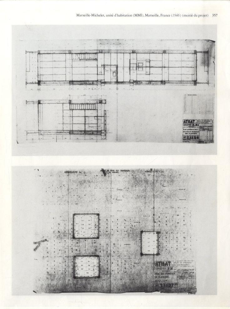 107 best images about l 39 unit d habitation le corbusier on pinterest - Unite d habitation dimensions ...