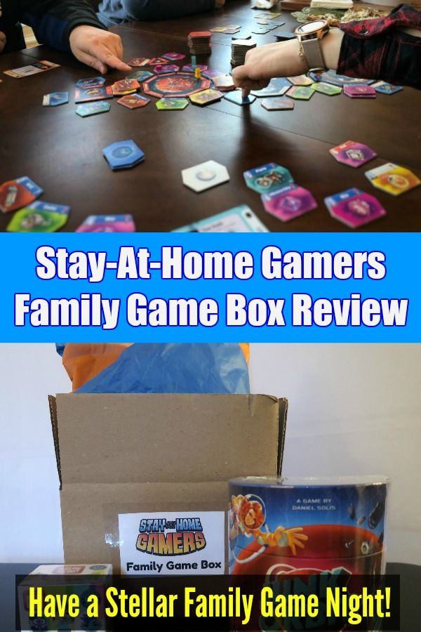 Family Game Box Review: Out of This World, Literally and