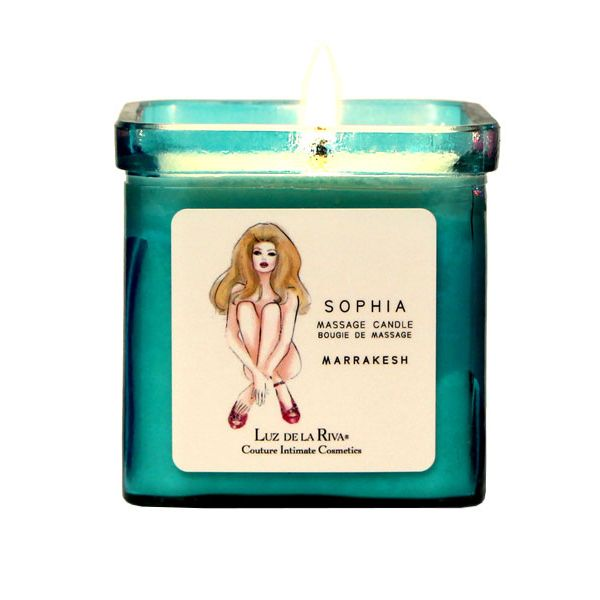 Heat things up with this candle whose wax doubles as a luxurious massage  cream.