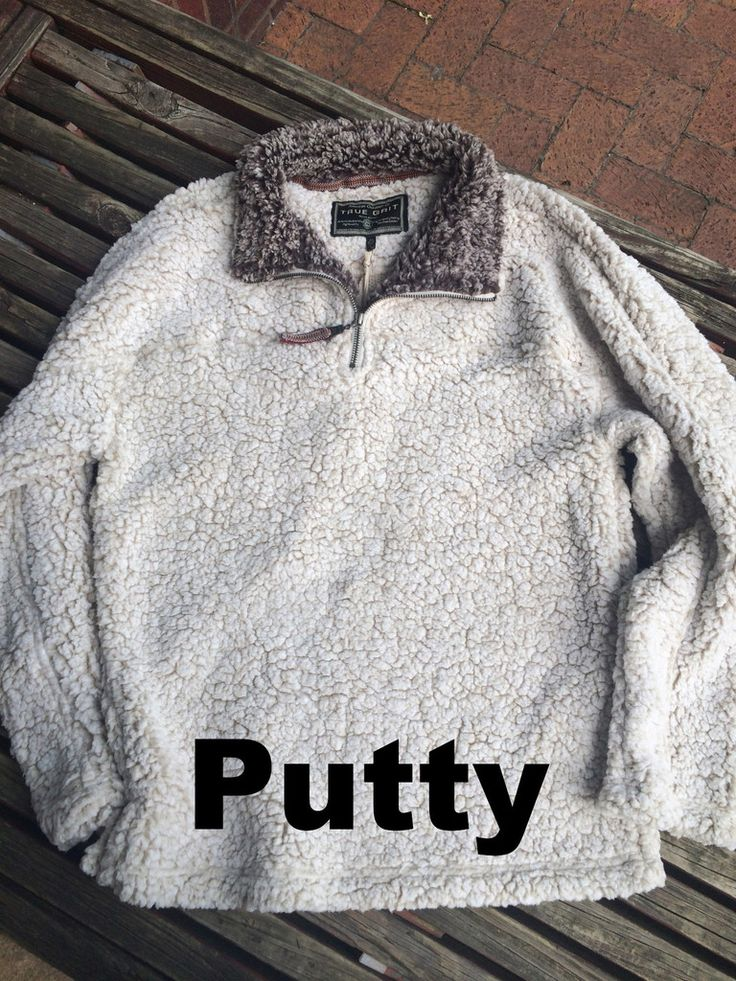 True Grit 1/4 Zip Fleece Pullover - Frosty Tipped Pile (5 Colors)