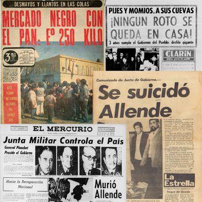 Línea de tiempo: La prensa en septiembre de 1973 | Puroperiodismo