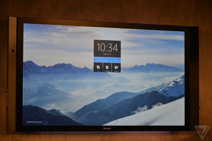 Microsoft Surface Hub, conferencing computer. $tbc.