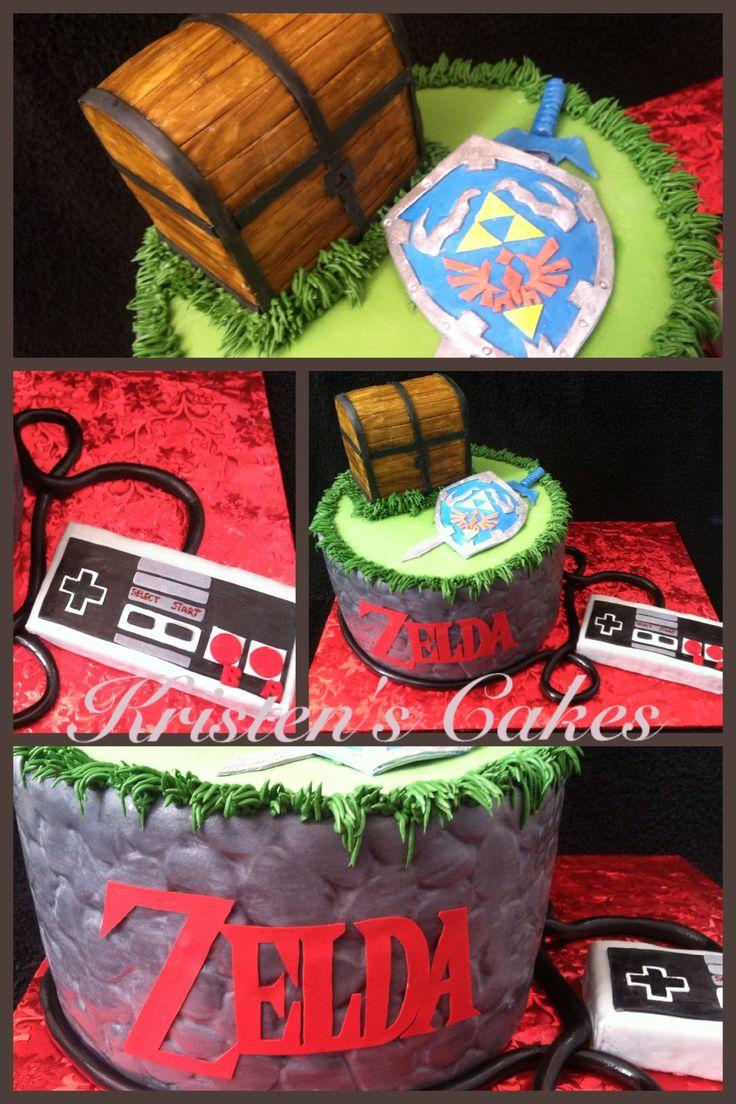 Zelda cake extravaganza!