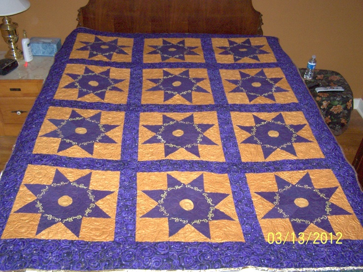 15 Best Images About Crown Royal Quilt On Pinterest