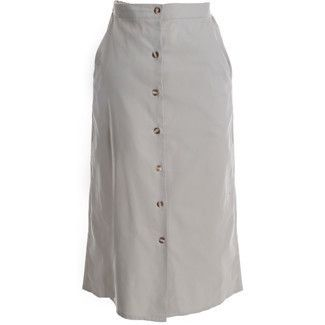Loerie - Button Front Skirt-422
