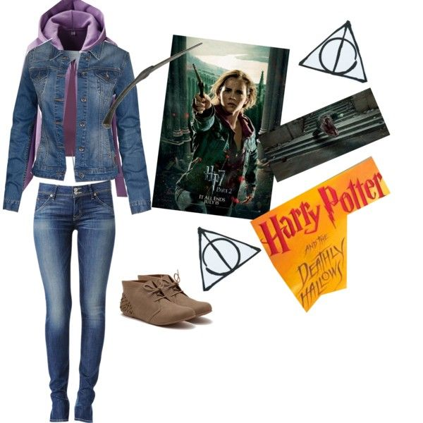 U0026quot;Hermione Granger outfit - Deathly Hallows part 2u0026quot; by bethbutler-1 on Polyvore | Hogwarts ...