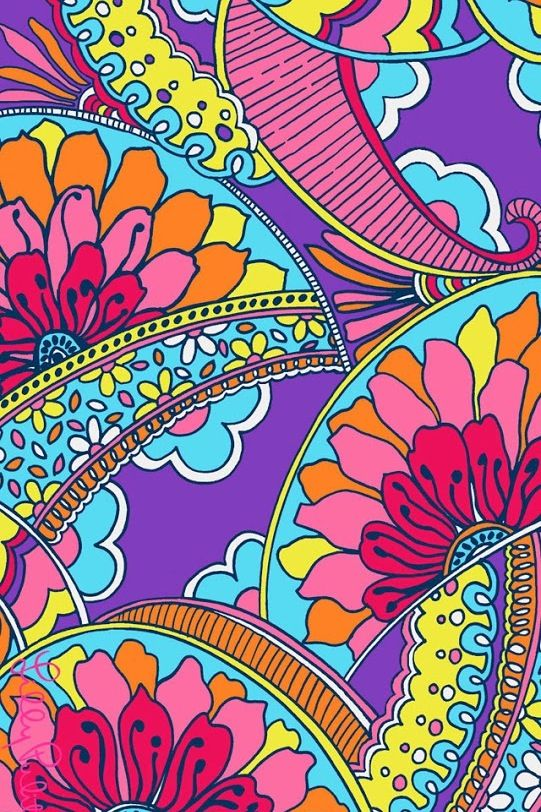 Mike Binder Wallpapers Colorful paisley iphone wallpaper iPhone Wallpaper Pinterest
