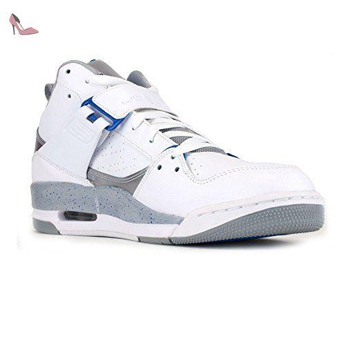 NIKE Air Jordan Flight 45–644846–107–Blanc - Blanc - grau,weiß, 12,5 - Chaussures nike (*Partner-Link)