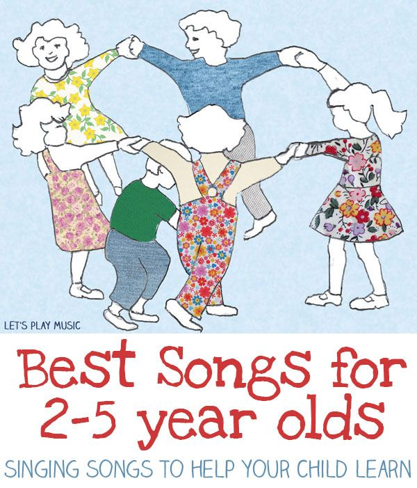 Best Songs for 2-5 Year Olds - I hadn't heard of a few of these.