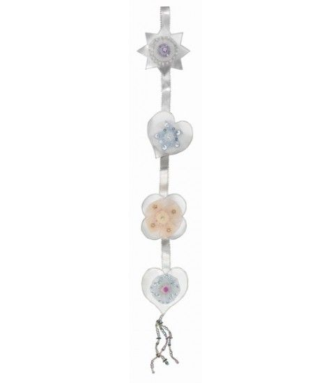 The SilverSparkle Flower Strings add an elegant touch to your child's bedroom.