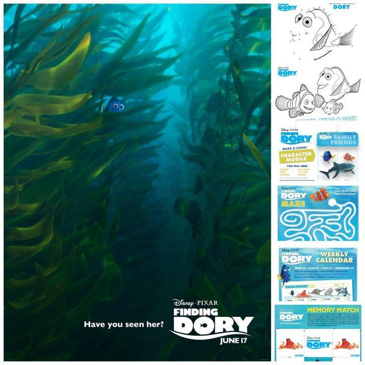 75 best Disney*Pixar images on Pinterest Disney movies, Disney - new pixar coloring pages finding nemo