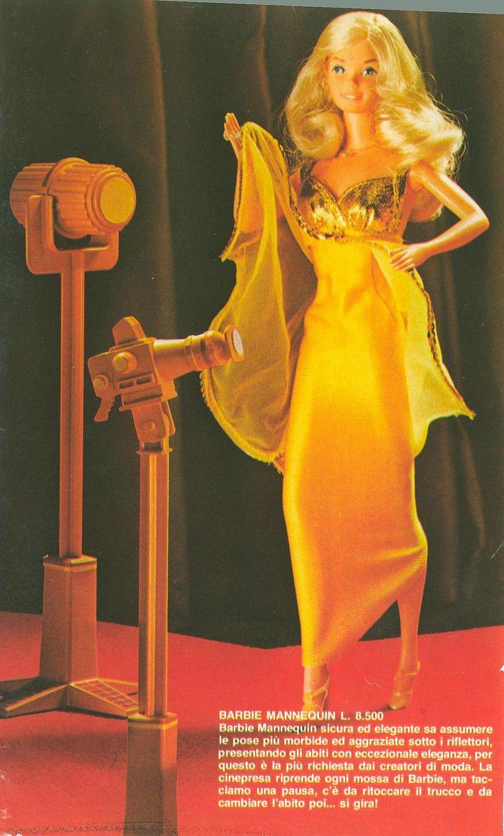 https://flic.kr/p/bA3JbF | Barbie ads on Topolino 1970's