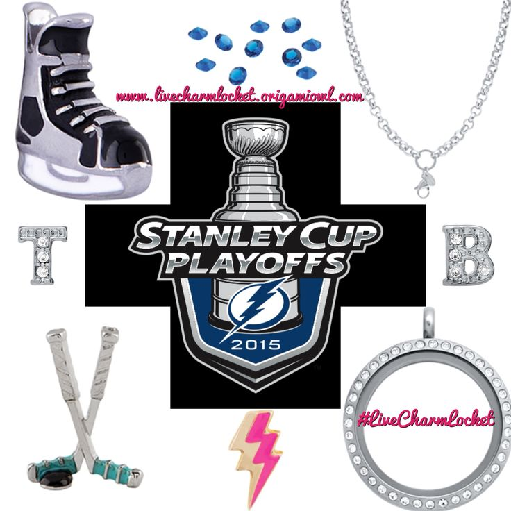 Who will you be cheering on tonight in game 1?!?! I've got the the Tampa Bay Lightning in my locket. Contact me today to get your customized Tampa Bay Lightning Origami Owl Locket or your favorite team at www.livecharmlocket.origamiowl.com #origamiowl #livecharmlocket #nhl #hockey #stanleycup #tampabaylightning