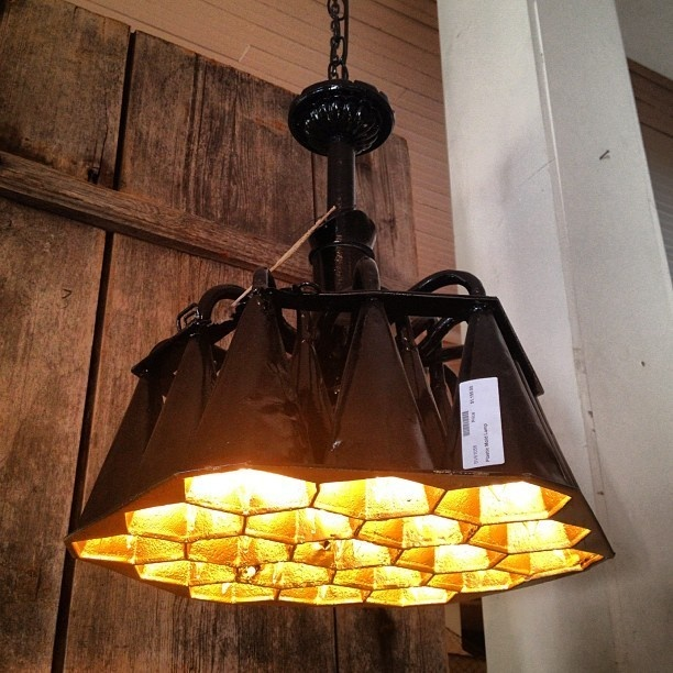 Honeycomb Pendant Lamp from BoBo's Intriguing Objects High Point Market Fall 2012 | Apartment Therapy