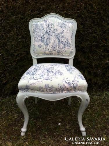 Francia Toile barokk szék