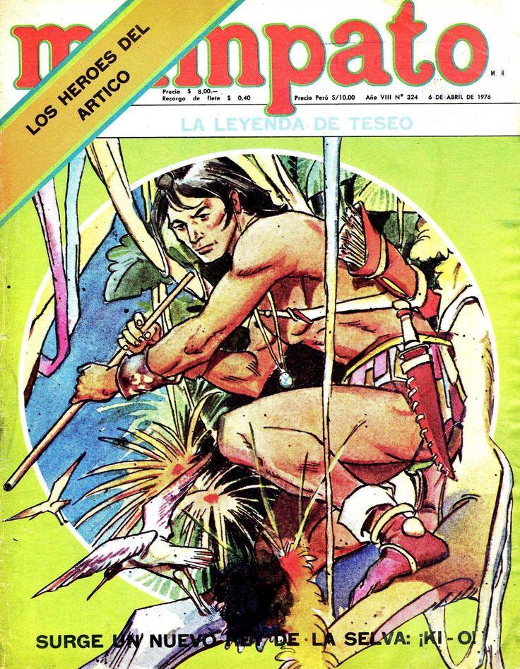Mampato # 324, abril 1976. En portada Ki'O (Comic Chile)