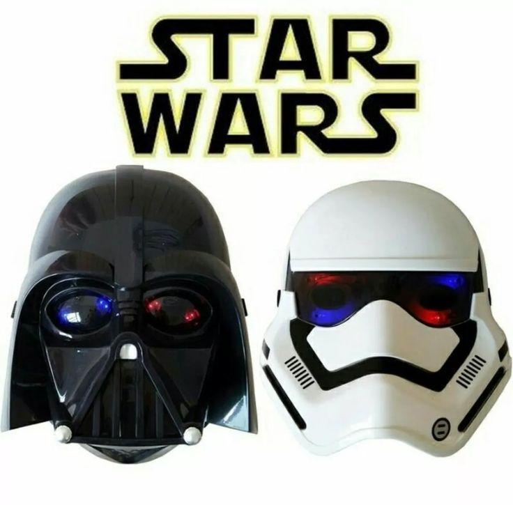 Mascaras Starwars Con Led Luces - Bs. 5.200,00 en Mercado Libre