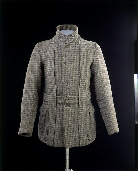 Norfolk jacket and neck piece | V Search the Collections