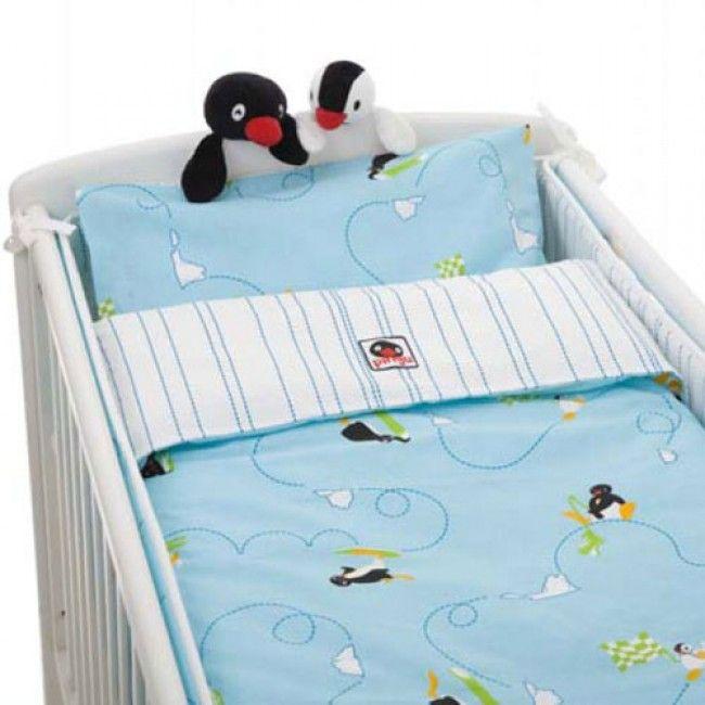 Rätt Start, Barnesengsskydd, Pingu fra Gobaby. Om denne nettbutikken: http://nettbutikknytt.no/gobaby/