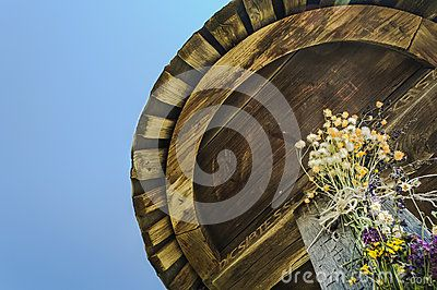 Wayside Cross On Hill With Flowers, Closeup - Download From Over 23 Million High Quality Stock Photos, Images, Vectors. Sign up for FREE today. Image: 38630171