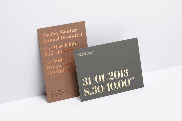 Shelley Sandzer Invite by Six