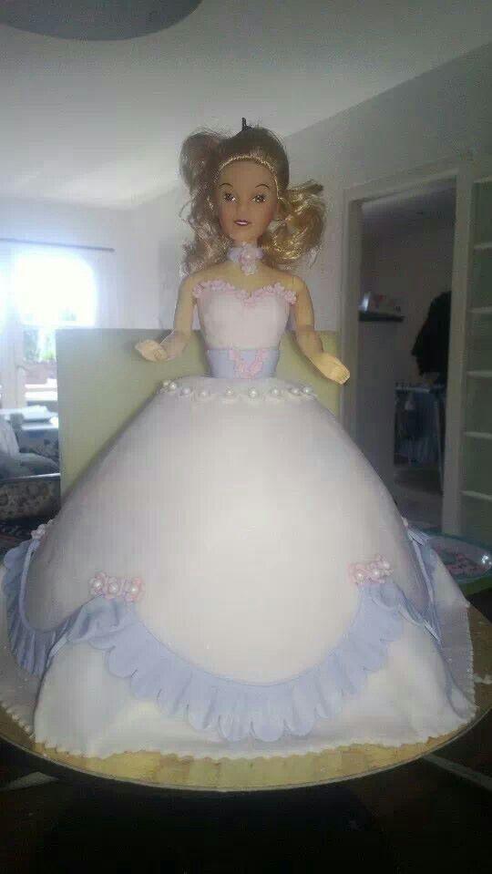 Prinsesse kage til min datters fødselsdag