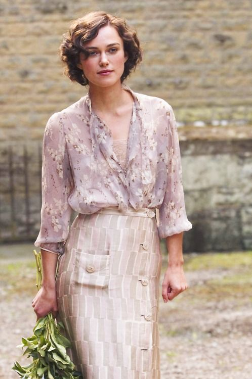 Keira Knightley in AtonementChiffon Blouses, Atonement, Keira Knightley, Dresses, Costumes Design, Movie Outfit, Beautiful Things, Keira Knights, Actresses