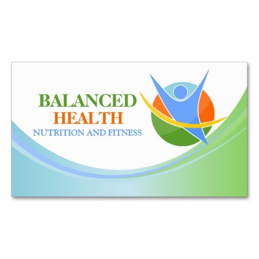 health and wellness  business cards and coaches on pinterest