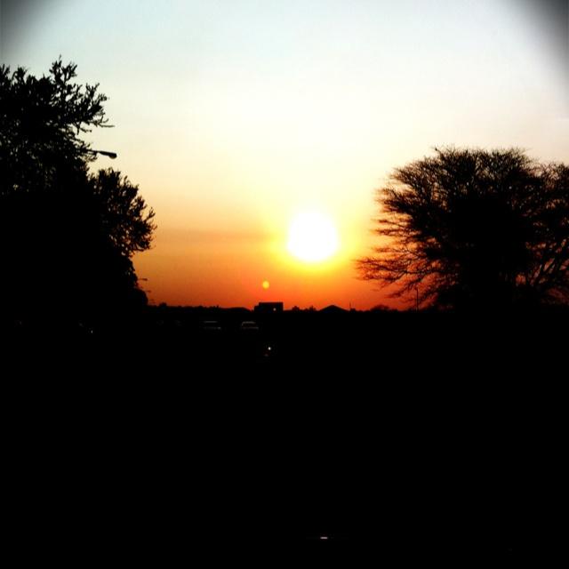 SunSet:) in Braam Pretorius Street #Pretoria