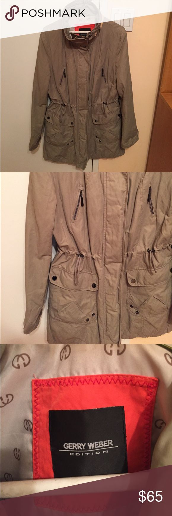 Gerry Weber jacket Gently worn Gerry Weber women's jacket in a size 8. Excellent condition. No stains or rips. Gerry Weber Jackets & Coats Trench Coats