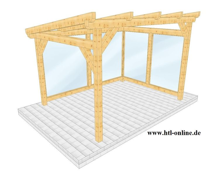 Überdachung aus Holz - HTL #Holztechnik #Holz #Arbeit mit Holz #Überdachung aus Holz