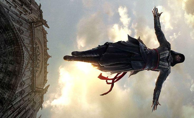Assassin's Creed   Assista o Incrível Salto da Fé Durante as Gravações do Filme