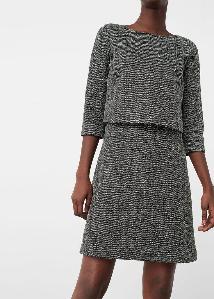 Double layer dress   MANGO