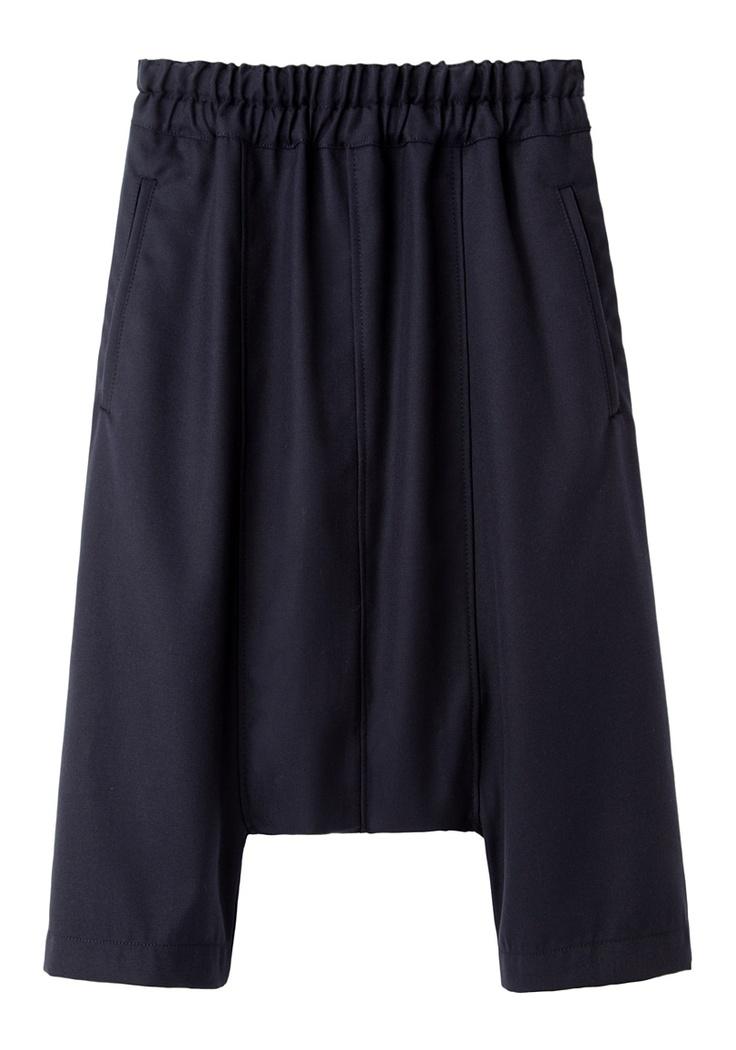 Comme des Garçons Shirt /  Drop Crotch Pants