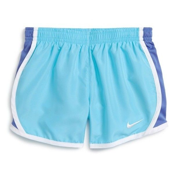 NIKE 'Tempo' Dri-FIT Athletic Shorts ($33) ❤ liked on Polyvore featuring activewear, activewear shorts, shorts, nike activewear, nike sportswear, athletic sportswear and nike
