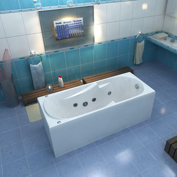 Ванна Bas Ибица  #акриловая, #акриловые, #ванны, #дизайн, #ремонт, #обустройство, #сантехника, #скидки.