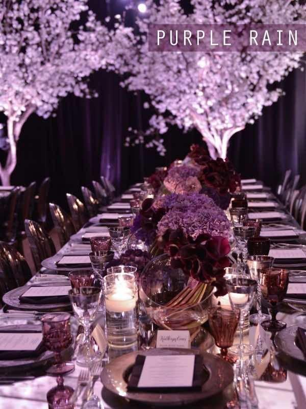 black white purple wedding reception%0A     best PURPLE CENTERPIECES AND WEDDINGS images on Pinterest   Wedding  bouquets  Bright color schemes and Centerpiece ideas