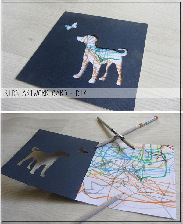 hooknloopdesign: מה עושים עם כל היצירות של הילדים?!